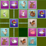 Farm Animals Matching Puzzles