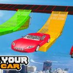 Mega Car Ramp Impossible Stunt Game
