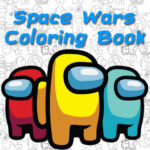 Space Wars Cartoon Coloring